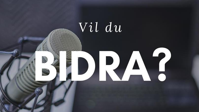 Bidra.no - Preik og Podcast Studio på Hjemmekontoret