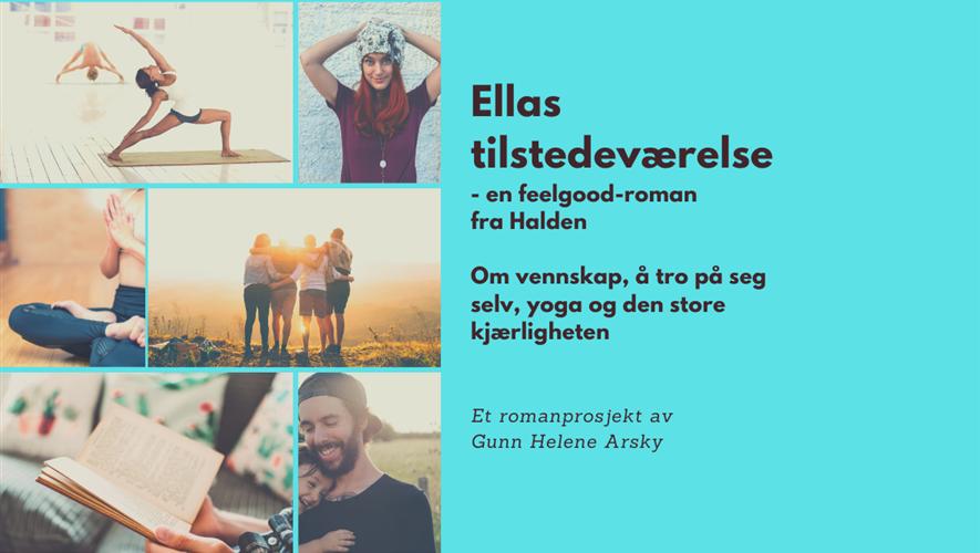 Bidra.no - Ellas tilstedeværelse - feelgood-roman fra Halden