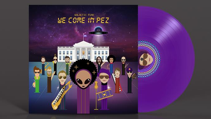 "Galactic Funk ""We Come in PEZ"" (LP)"