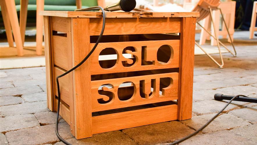 Help oslo soup buy a microphone and amp Bidra.no