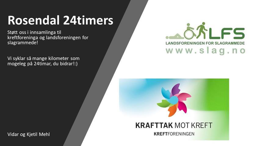 Bidra.no - 24 timers Rosendal Kjetil og Vidar