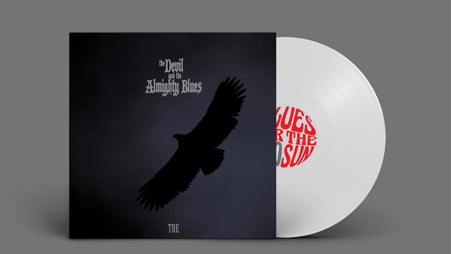 Bidra.no - Kjøp The Devil And The Almighty Blues albumet TRE i limitert utgave på hvit vinyl. Inkludert forsendelse i Norge.