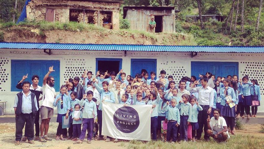 Flaskeskole i Nepal