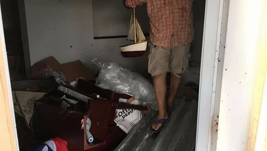Bidra.no - Hjelp til orkanrammede familien i Florida Keys