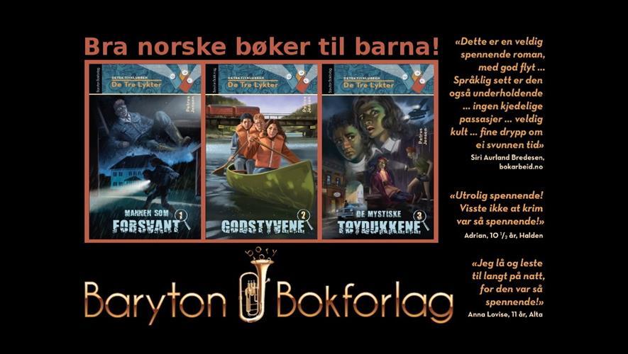 Baryton Bokforlag - Ekte leselyst og sunne verdier