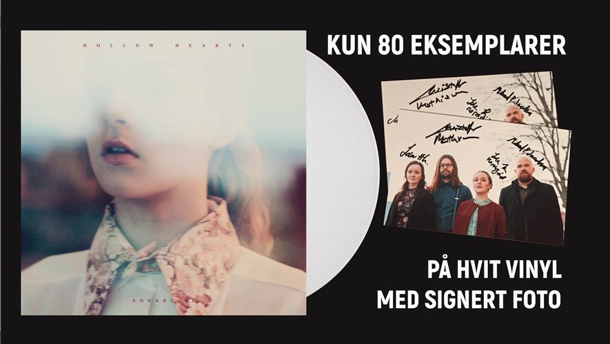 Bidra.no - Hollow Hearts – Limitert LP + CD + 7» singel (sendes i Norge)