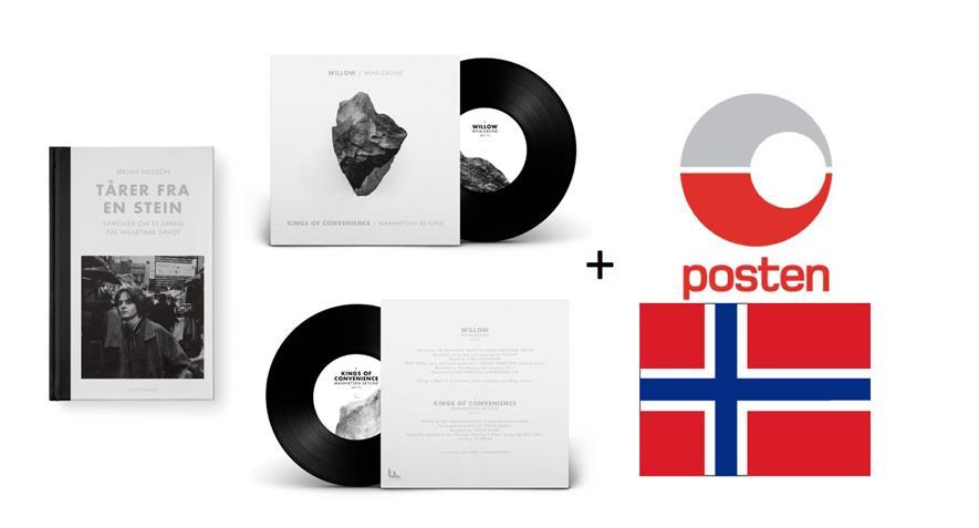 """Bidra.no - Kjøp signert bok og signert 7"""" - få de i posten (Norge)"""