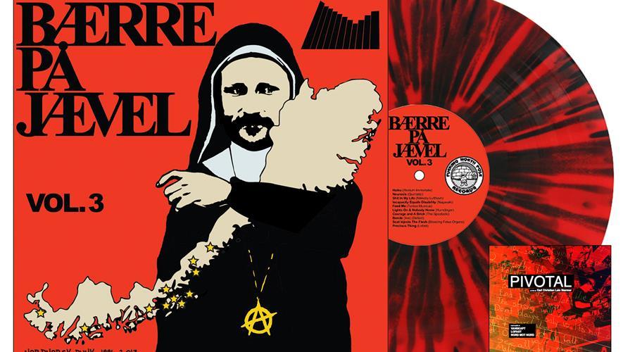 Bidra.no - 4: Bærre på Jævel Vol. 3 (begge fargene: rød splatter og gul vinyl + dvd) Sendes i Norge