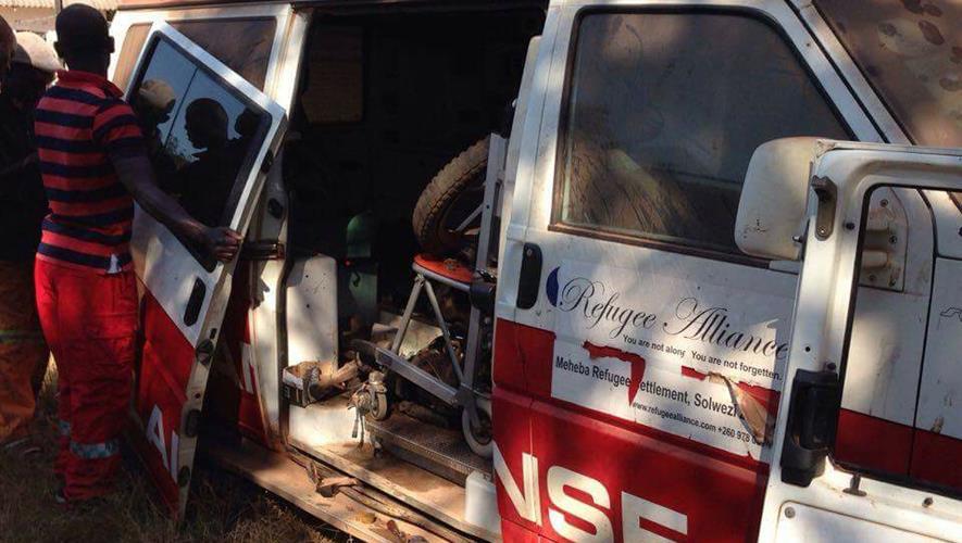 Ambulanse redder liv ved bush-klinikk i Zambia!